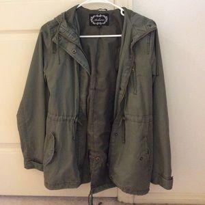 Jackets & Blazers - Army Green Utility Jacket